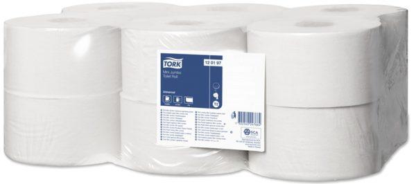 Туалетная бумага джамбо, 1 слой, 200 метров