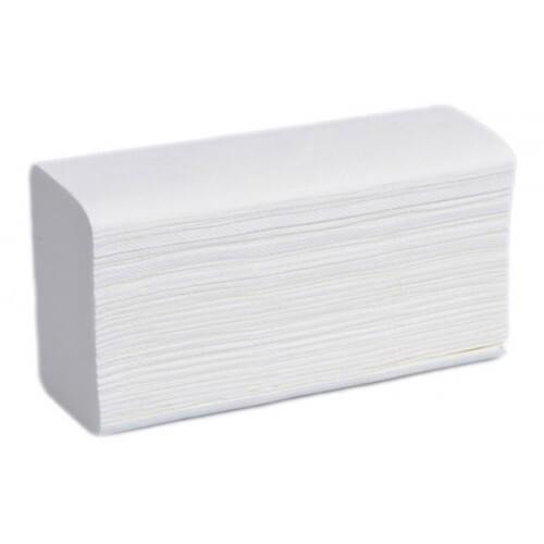 Бумажные полотенца, V-сложение, 2 слоя, 150 листов
