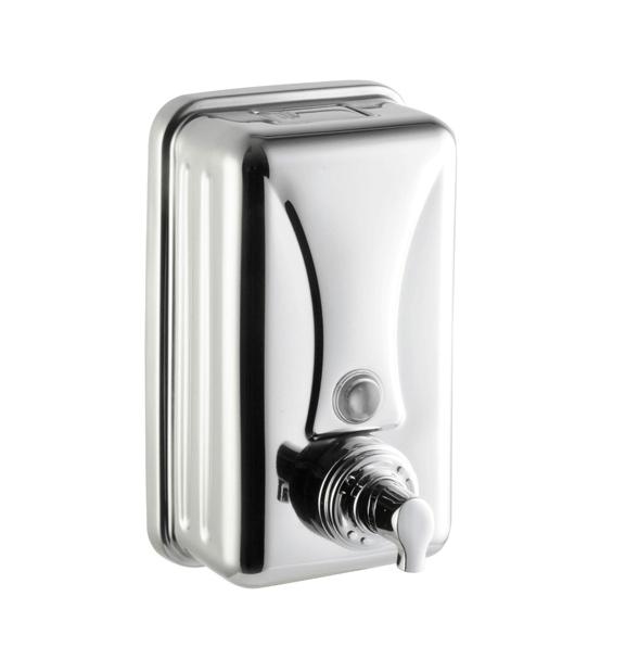 Металлический дозатор мыла-пены, наливной, арт.3006