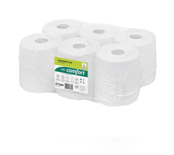Бумажные полотенца с центральной вытяжкой WEPA, 300 метров