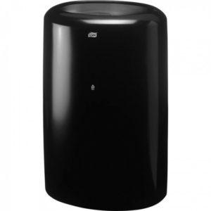 Корзина для мусора Tork, 50 литров, пластиковая, черная