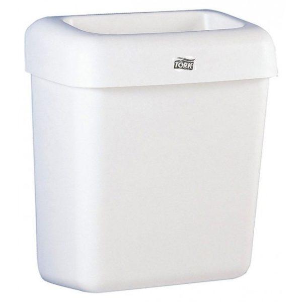 Корзина для мусора, 20 литров, с крышкой, пластиковая
