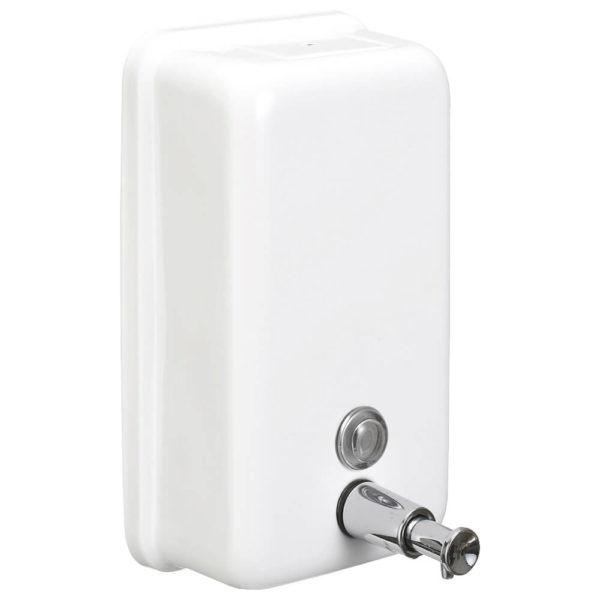Металлический дозатор жидкого мыла NOFER, арт.03001.W