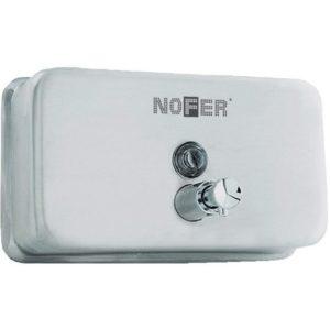 Металлический дозатор жидкого мыла NOFER, арт.03002.S