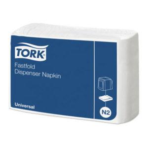 Бумажные салфетки TORK, для диспенсеров, белые, 300 шт.