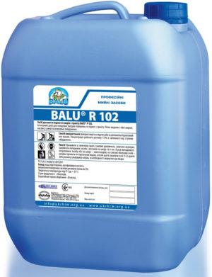 Средство для мытья пола BALU R 102, 10 литров