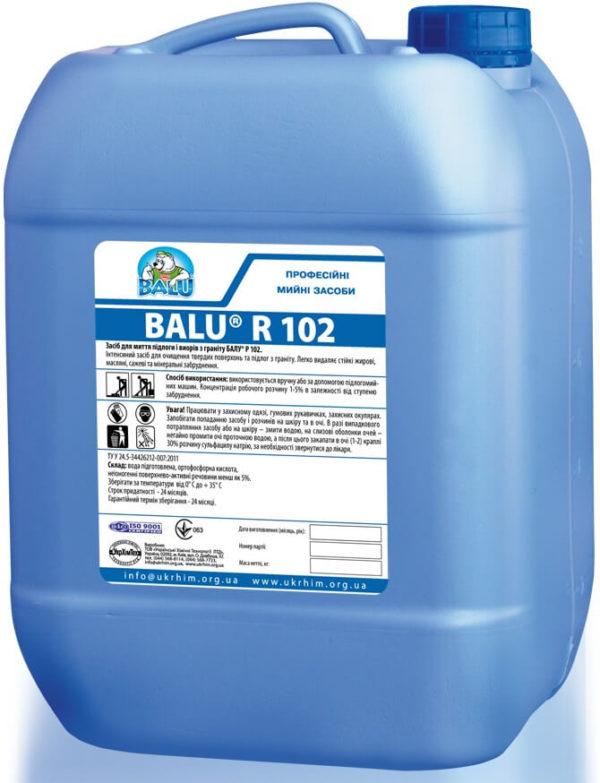 Средство для мытья пола BALU R 102, 1 литр