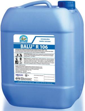 Средство для мытья пола поломоечной машиной BALU R 106, 10 литров