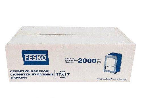Бумажные салфетки для диспенсеров, белые, 2000 шт.