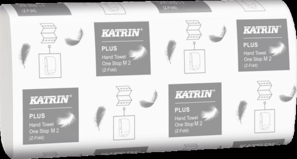 Бумажные полотенца KATRIN, Z сложение, 2 слоя, 144 листа