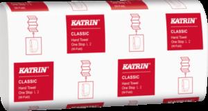 Бумажные полотенца KATRIN, W сложение, 2 слоя, 110 листов