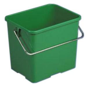 Ведро для уборки, 6 л, зеленое, VILEDA (Испания)