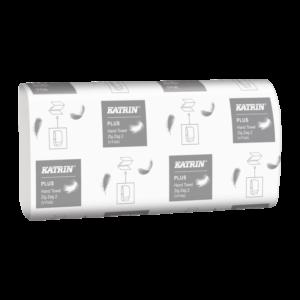 Бумажные полотенца KATRIN 65968, V сложение, 2 слоя, 150 листов
