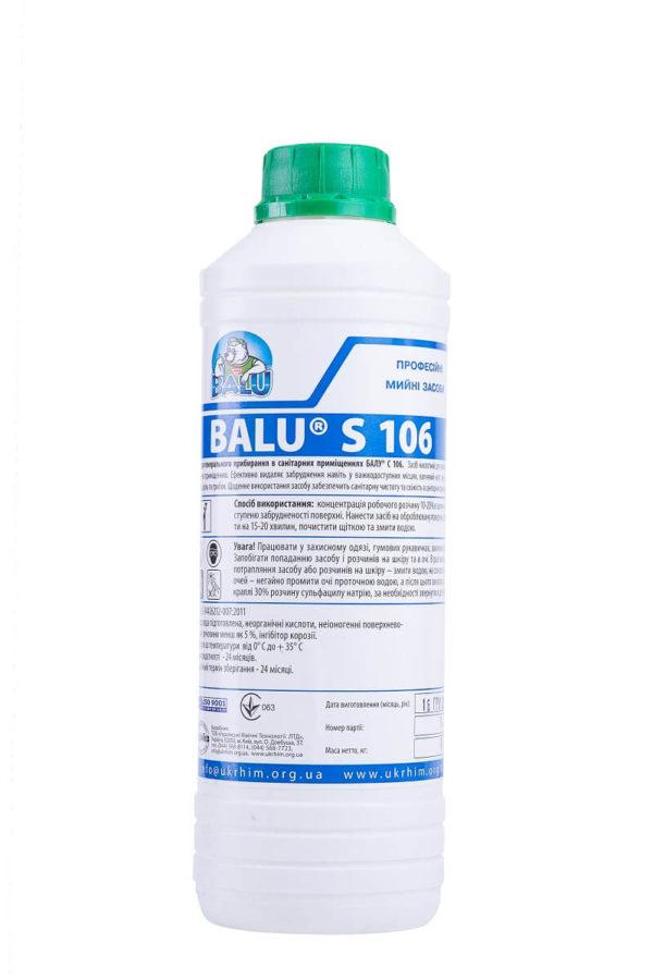 Средство для генеральной уборки BALU S 106, 1 литр