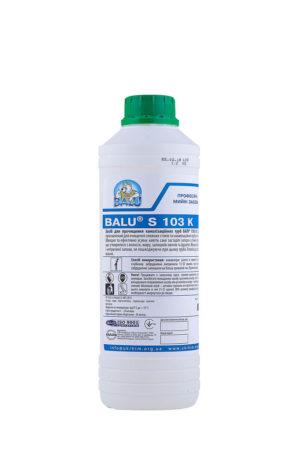 Средство для очистки канализационных труб BALU S 103, 1 литр